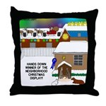 Best Christmas Decorations Throw Pillow