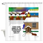 Best Christmas Decorations Shower Curtain