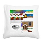 Best Christmas Decorations Square Canvas Pillow