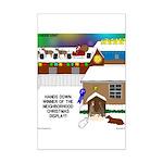 Best Christmas Decorations Mini Poster Print