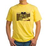 Nativity Mice Yellow T-Shirt