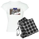 Nativity Mice Women's Light Pajamas