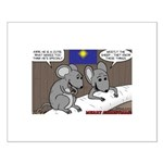 Nativity Mice Small Poster