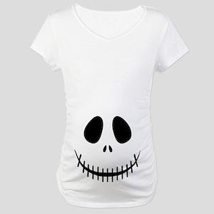 Halloween Skeleton Maternity T-Shirt