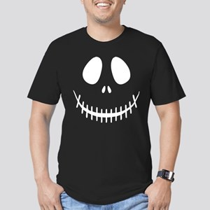 Halloween Skeleton Men's Fitted T-Shirt (dark)