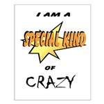 I am a special kind of crazy Small Poster
