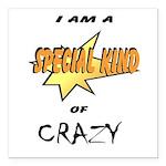 I am a special kind of crazy Square Car Magnet 3