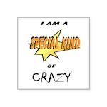 I am a special kind of crazy Square Sticker 3