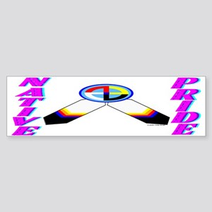 NATIVE PRIDE Sticker (Bumper)