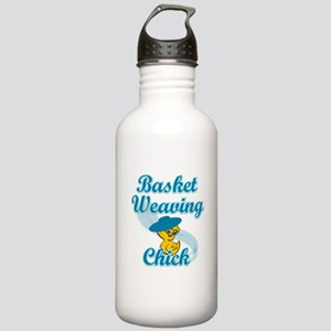 Basket Weaving Chick #3 Stainless Water Bottle 1.0