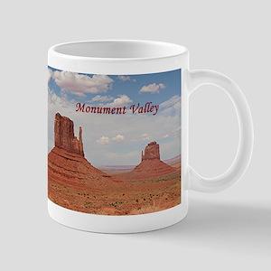Monument Valley (caption) Mug