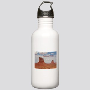 Monument Valley (caption) Stainless Water Bottle 1
