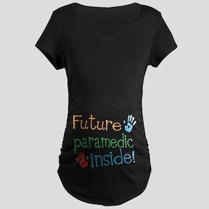 Future Paramedic Maternity Dark T-Shirt