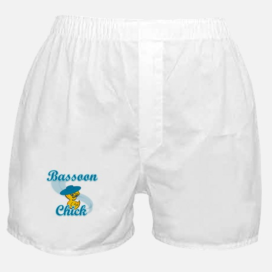 Bassoon Chick #3 Boxer Shorts