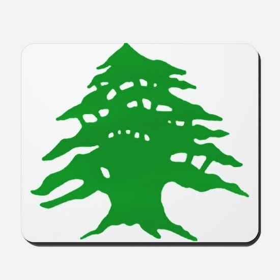 The tree Mousepad