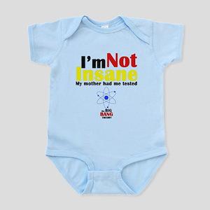 Big Bang Not Insane Infant Bodysuit