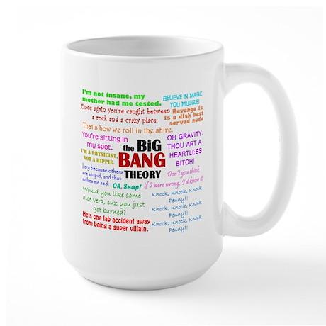 Big Bang Theory Quotes Large Mug