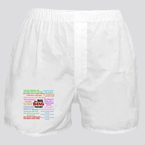 Big Bang Theory Quotes Boxer Shorts
