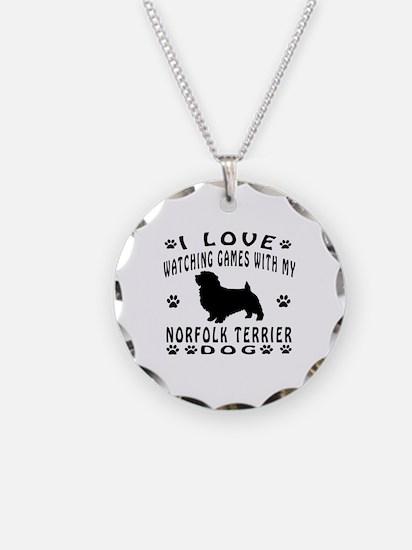 Norfolk Terrier design Necklace