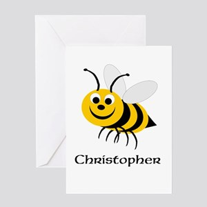 Honey bee greeting cards cafepress bee greeting card m4hsunfo