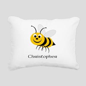 Bee Rectangular Canvas Pillow