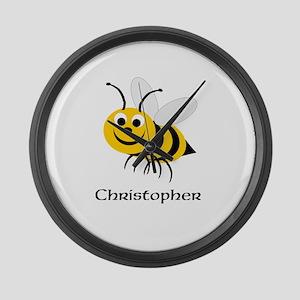 Bee Large Wall Clock