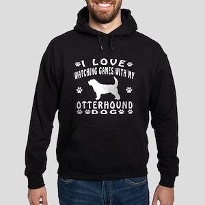 Otterhound design Hoodie (dark)