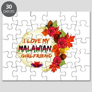 Malawian Girlfriend Valentine design Puzzle