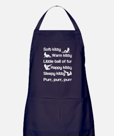Sexy Soft Kitty Apron (dark)