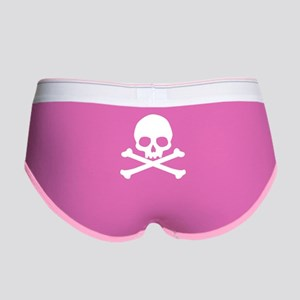 Simple Skull And Crossbones Women's Boy Brief