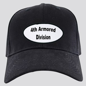 4TH ARMORED DIVISION Black Cap