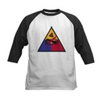 4TH ARMORED DIVISION Kids Baseball Jersey
