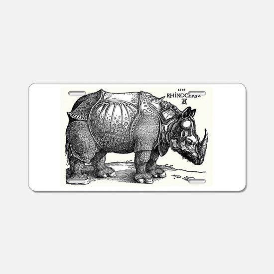 Rhino Aluminum License Plate