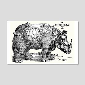 Rhino 20x12 Wall Decal