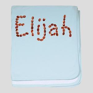 Elijah Coffee Beans baby blanket