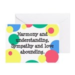 Harmony & Understanding Greeting Cards (Package of