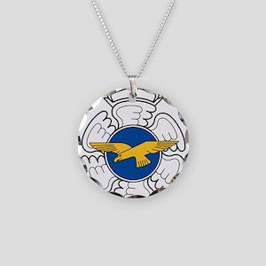 Finnish AF emblem Necklace Circle Charm