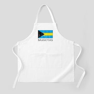 Bahamas Flag BBQ Apron