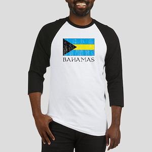 Bahamas Flag Baseball Jersey