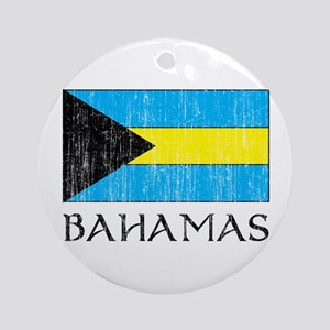 Bahamas Flag Ornament (Round)