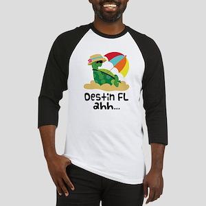 Destin Florida Turtle Baseball Jersey