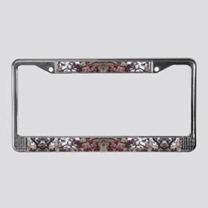 Magnolia License Plate Frame