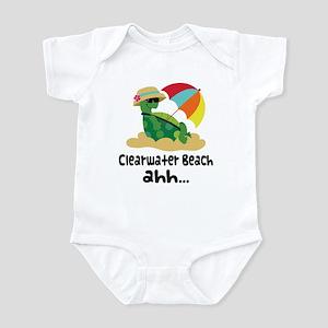 Clearwater Beach Turtle Infant Bodysuit