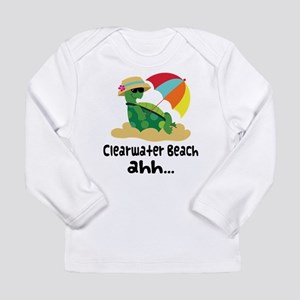 Clearwater Beach Turtle Long Sleeve Infant T-Shirt