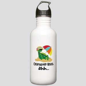 Clearwater Beach Turtle Stainless Water Bottle 1.0