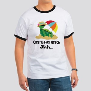 Clearwater Beach Turtle Ringer T