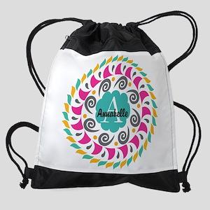 Personalized Monogrammed Gift Drawstring Bag