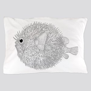 Blowfish Pillow Case
