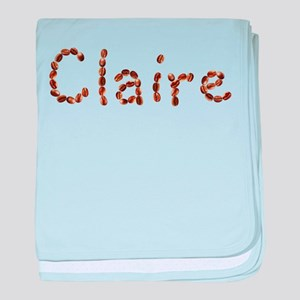 Claire Coffee Beans baby blanket