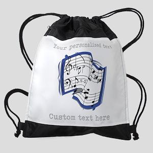 Music Drawstring Bag